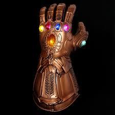 LED Light <b>Thanos Infinity Gauntlet Avengers</b> Infinity War Cosplay ...