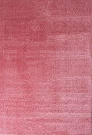 Sienna1000 Rose Flauschiger Microfaser Teppich Dicht Gewebt