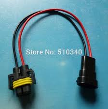 online get cheap car wiring harness aliexpress com alibaba group h8 h9 h11 wiring harness car wire connector cable sockets plug adapter for hid led foglight