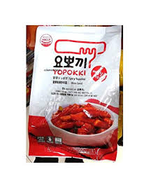 Amazoncom Yopokki Prepared Korean Rice Cake Instant Packet 1