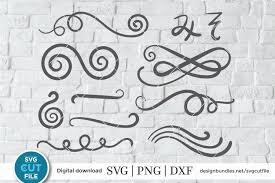 1,000+ vectors, stock photos & psd files. Swirl Svg Swoosh Svg Scrolls Svg Flourish Svg 258638 Cut Files Design Bundles