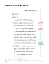apa bibliography format example apa annotated bibliography example haci saecsa co