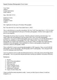 how to write a photographer cover letter photography assistant cover letter