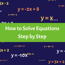 have you tried solving an equation and ended up stuck on a step halfway through having trouble making sense of equations or why they matter