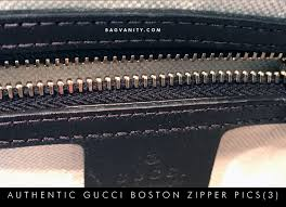 gucci zipper. gucci authenticity check -ykk zippers on the inside of a real boston doctor bag zipper m