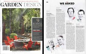 Small Picture An Interview with Garden Design Magazine Matthew Cunningham