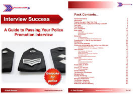 rank success ebooks to assist your police promotion police promotion interview