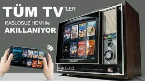 Tüm Televizyonlara Kablosuz Görüntü Nasıl Aktarılır ? (Kurulum&Kullanım) -  YouTube