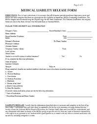 Swimming Pool Waiver Release Form New Conditional Release Forms ...