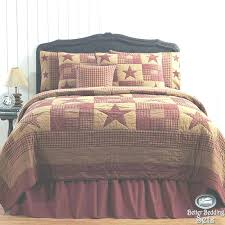 cottage bedding sets quilt bed sets bedroom rustic western star twin queen cal king bedding set