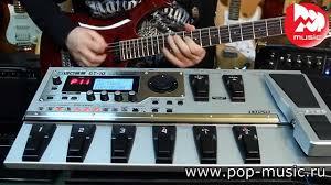 <b>Процессор гитарный BOSS</b> GT10 - YouTube