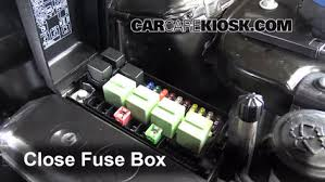 blown fuse check 2011 2016 mini cooper countryman 2013 mini cooper mini cooper fuse box layout 6 replace cover secure the cover and test component