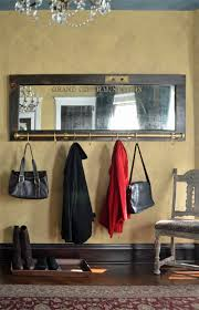 Door Hanging Coat Rack Wall mounted coat rack with mirror Grand Central Station vintage 60