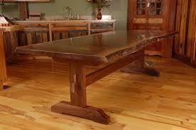 slab kitchen table