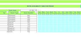 Meeting Room Scheduler Template Meeting Room Schedule Template Calendar Booking Excel