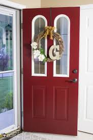 diy makeover with modern masters passionate front door paint red front door project by project