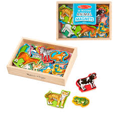 Wooden Magnetic Animals in a Box : Creative Kidstuff