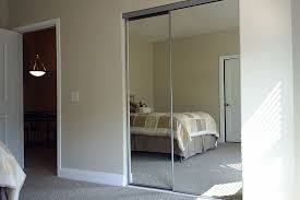 wall mirror closet sliding doors