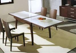 extendable dining room table and chairs extending glass dining table chair style