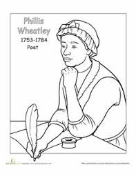 Small Picture Billie Holiday Coloring Page Black history month Worksheets and