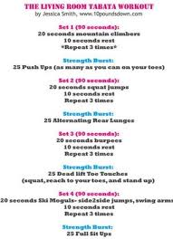 15 minute fat burning tabata workout