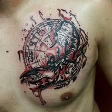 тату скорпион у мужчин 100 классных идей со значением и фото