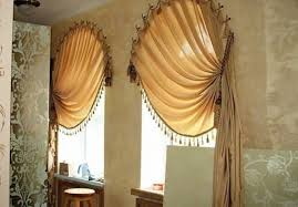 Picture Of Incredible 20 Arch Window Curtains And Tips On Arched Window  That Awesome