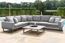maze rattan ethos large corner sofa set
