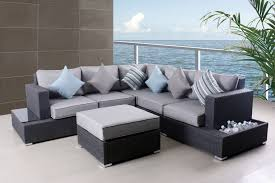Grey Patio Furniture Pillows Fashionable Grey Patio Furniture
