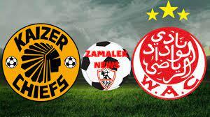 ملخص مباراة الوداد الرياضى و كايزر تشيفز 0 -0 عودة نصف نهائى بطوله ابطال  افريقيا