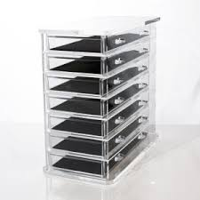 Deluxe Clear Acrylic Makeup Organizer