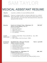 Medical Assistant Resume Objectives Certified Nursing Assistant Resume Objective Nursing Assistant 28