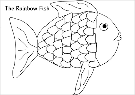 rainbow coloring pages. Brilliant Pages Rainbow Fish Coloring Page In Pages L