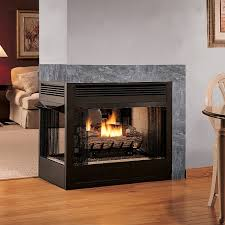 ventless gas fireplace home