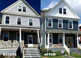 painting vinyl siding before and after before and after photo of house with siding painting vs painting vinyl siding