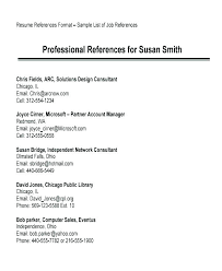References Template For Resumes With Resume Download Thekindlecrew Com