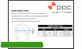Poc Bike Helmet Size Chart Poc Crane Mips Cpsc Bike Helmet