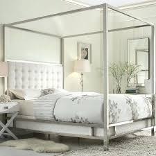 metal canopy bed frame queen for diy