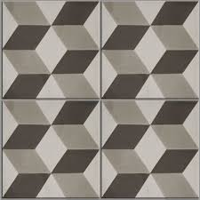 ... Ca'Pietra Cement Encaustic Adam Pattern Tile.