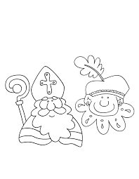 Sinterklaas En Zwarte Piet Kleuren Is Leuk