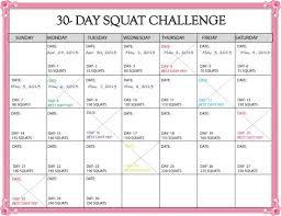 30 Day Challenge Printable Calendar Lacse Info