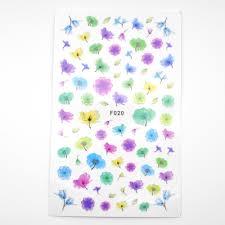 ヤフオク ネイルシール 花 フラワー 3d 2