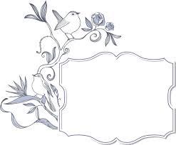 ポップでかわいい花のイラストフリー素材no958水色バラ鳥