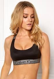 Lightly Lined Bralette Calvin Klein Calvin Klein Lightly Lined Bralette Black Bubbleroom