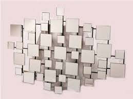 Mirrored Wall Art Geometric Mirror Wall Art Mirrored Wall Art
