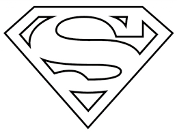 Superman Logo Coloring Pages Superman Coloring Logo Free Coloring ...