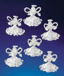 Holiday Beaded Ornament Kit 245796  Create And CraftChristmas Ornament Kits