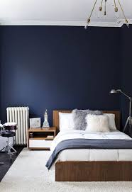 Delighful Navy Blue Bedroom Colors 20 Accent Walls Ideas On Pinterest In Design