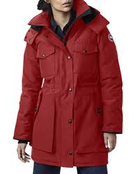 Canada Goose Gabriola Hooded Parka Coat w  Reflective Back