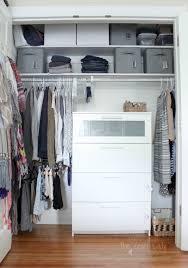 small closet organizing 101 the crazy craft lady small organized closet